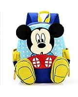 Little Kids Backpack Mouse Pattern Shoulders Bag, Schoolbag, Travel Bag