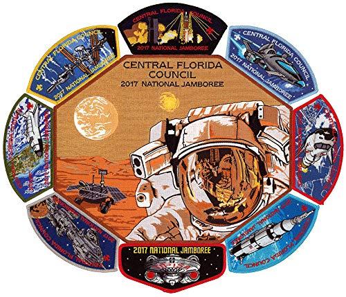 2017 Jamboree Central Florida Council Boy Scout JSP CSP Patch Set OA Tipisa Lodge 326 Flap