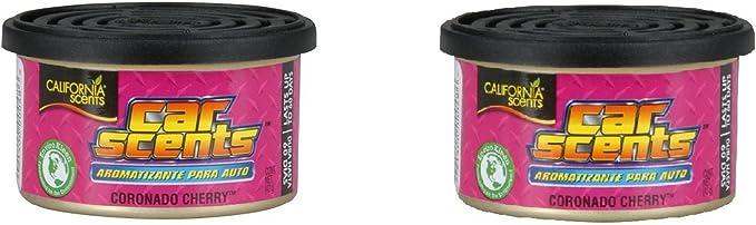 Amazon.es: California Scents F312 Ambientador para Coche, Oficina y hogar, Olor a Cereza, 2 Unidades