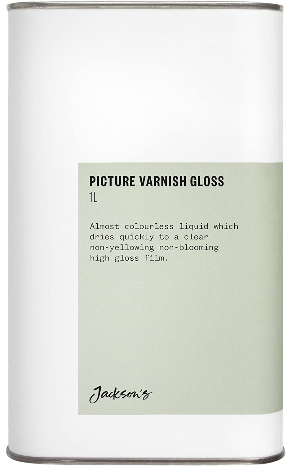 Jackson's : Picture Varnish Gloss 1 Litre : By Road Parcel Only Jackson's