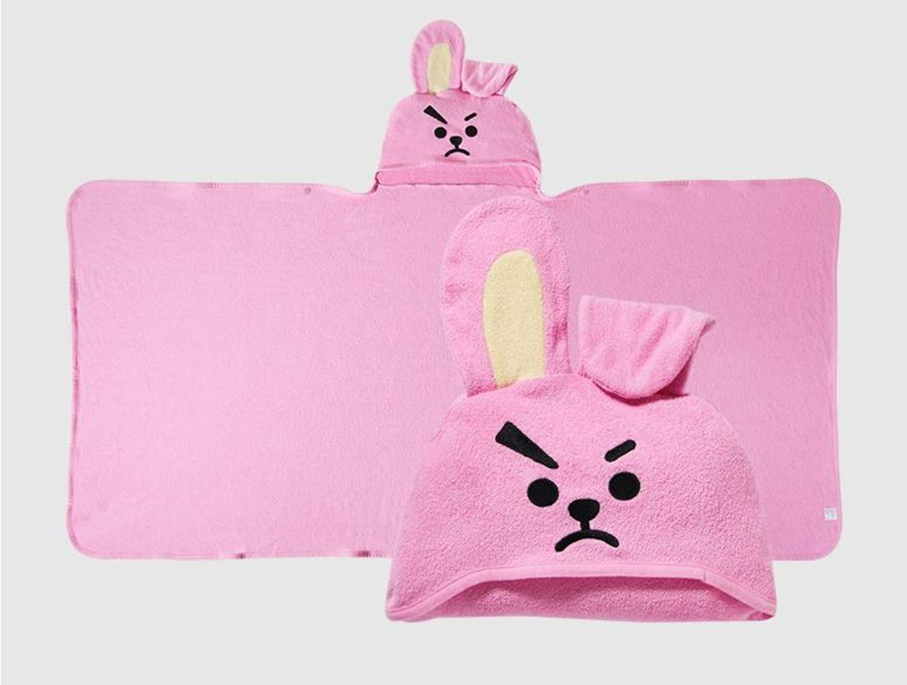 BT21 Official Hooded Towel (TATA, Cooky, CHIMMY.) (CHIMMY)