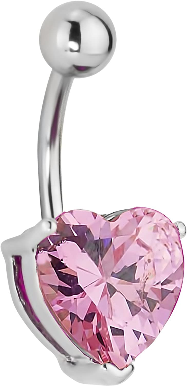"Titanium Rose Flower Large Ball Tongue Barbell 14g  5//8/"" Pink"