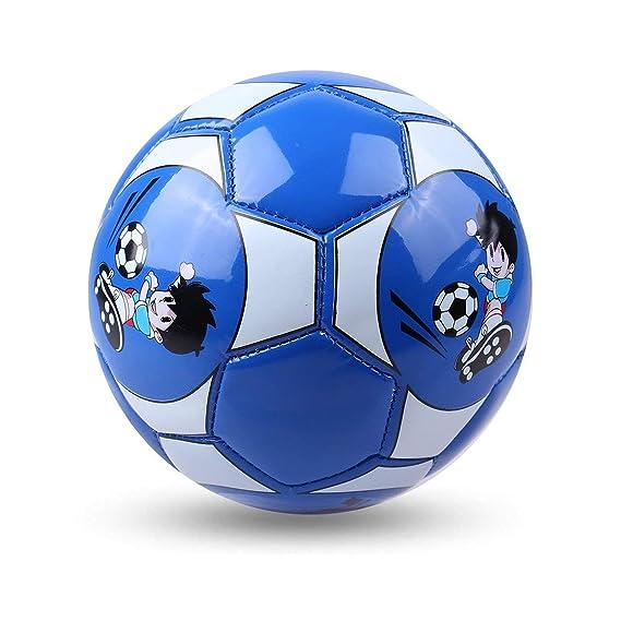 ZP270301 Footprintes Tamaño Oficial 2 Balón de fútbol de Cuero de ...