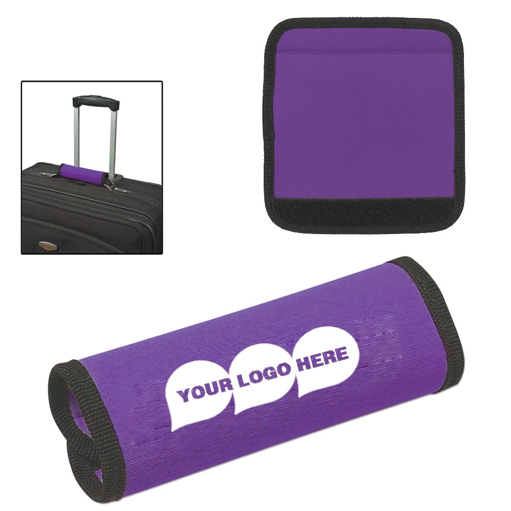 Neoprene Luggage Gripper - 100 Quantity - $1.49 Each - PROMOTIONAL PRODUCT/BULK / BRANDED with YOUR LOGO/CUSTOMIZED