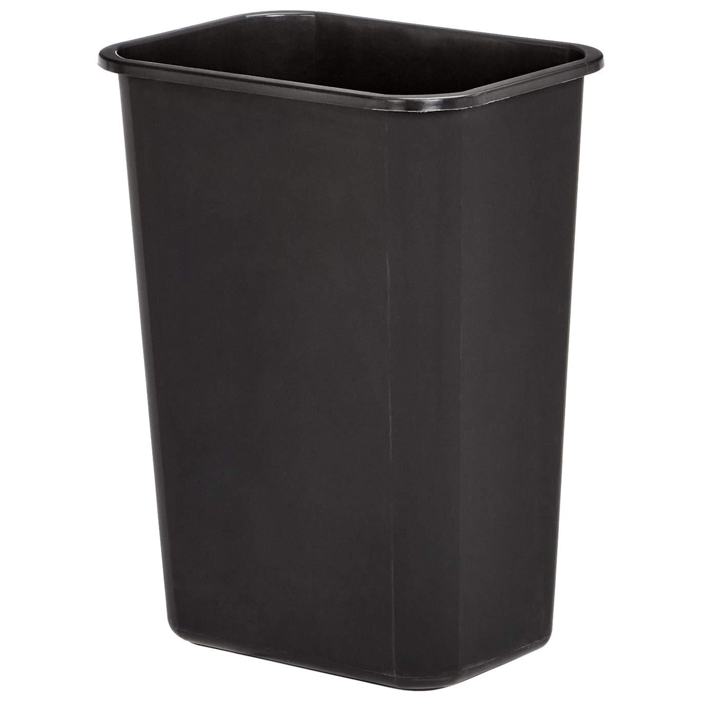AmazonBasics 10 Gallon Commercial Waste Basket, Black, 4-Pack - WMG-00038 by AmazonBasics