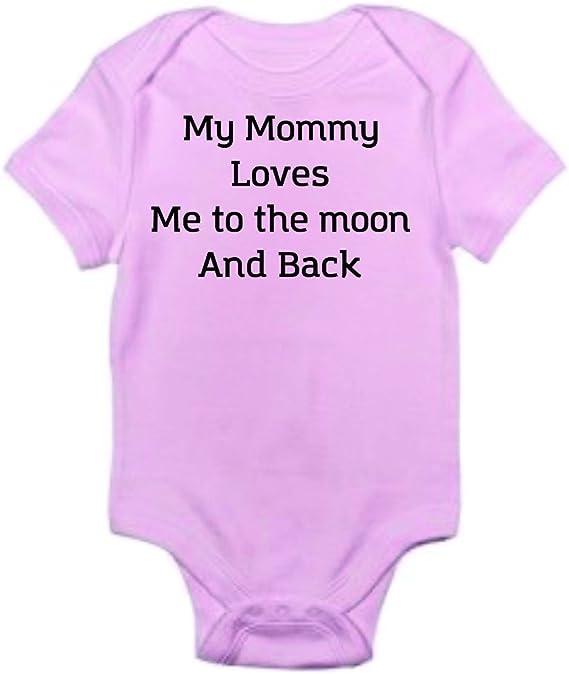 My Mummy Loves Me Baby Vest Babygrow Bodysuit Novelty Gifts Baby Shower