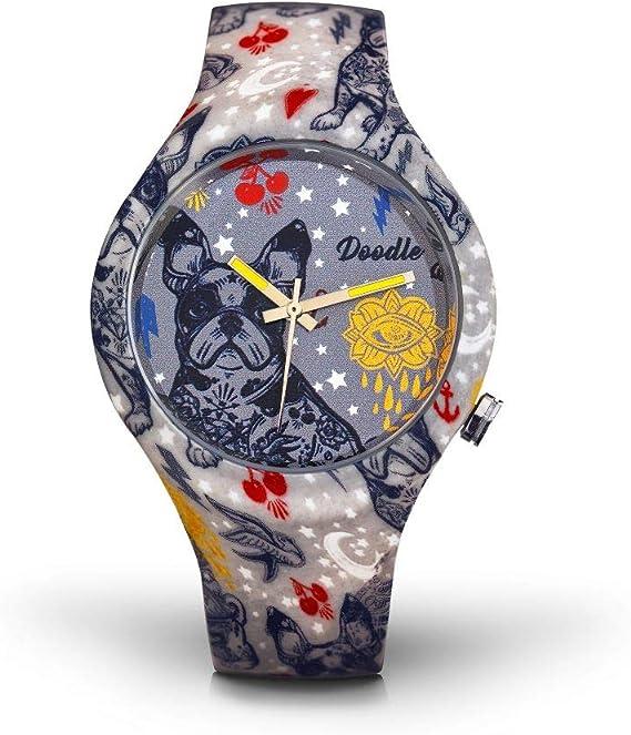 Reloj Doodle Watch Tatuajes Mode Unisex: Amazon.es: Relojes