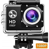 Amuoc EM5000 Dabige 12MP 1080P Waterproof Action Camera with 2