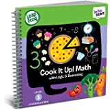 LeapFrog LeapStart Kindergarten Activity Book: Cook It Up! Math and Logic & Reasoning