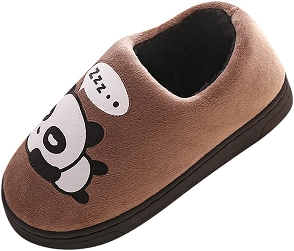 Voberry Baby Boys Girls Kid Shoes Warm Cute Animal Kid Home Slippers