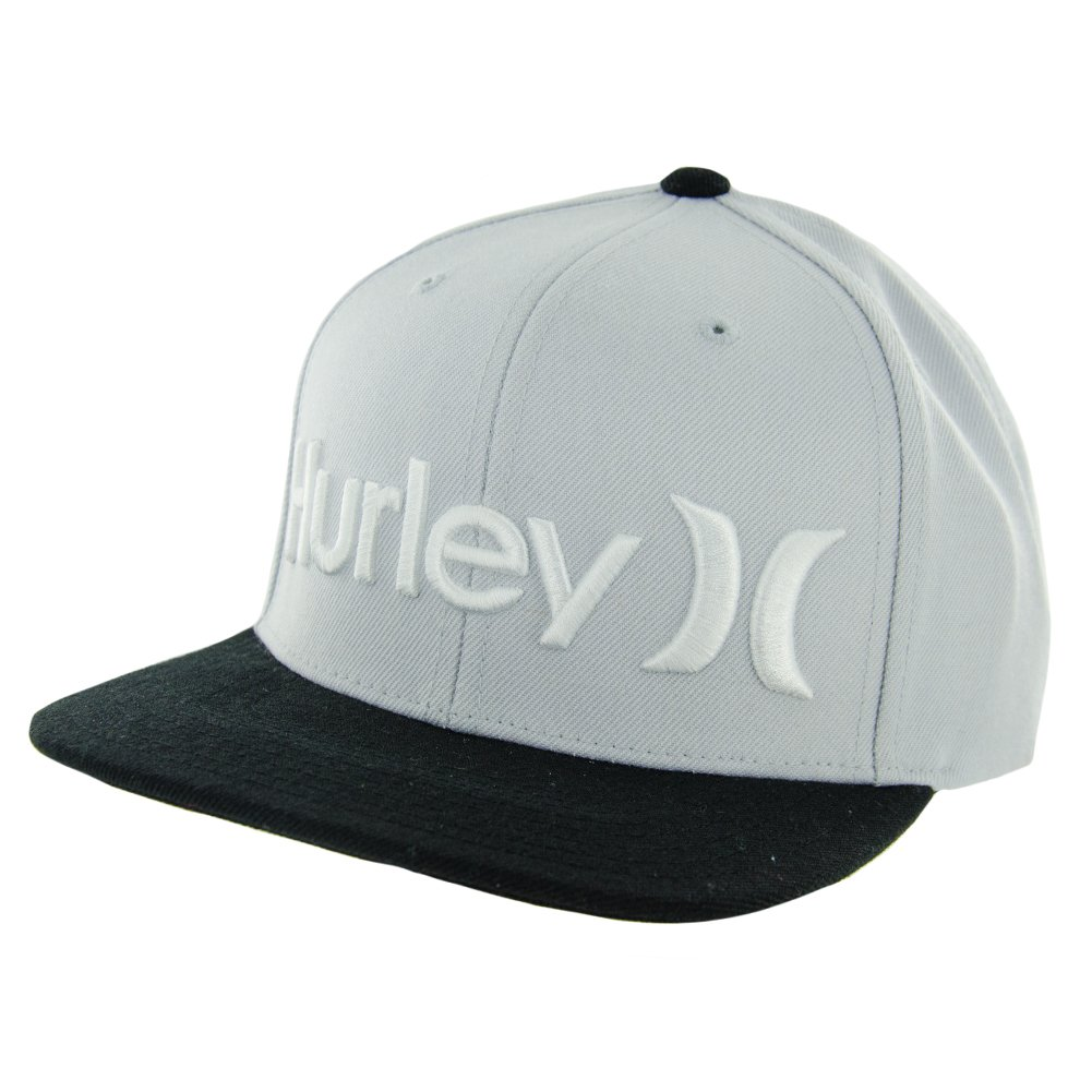 9c770aa6 Amazon.com: Hurley One and Only Snapback Hat - Black: Clothing