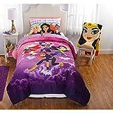 DC Superhero Girls Twin/Full Comforter and Full Sheet Set