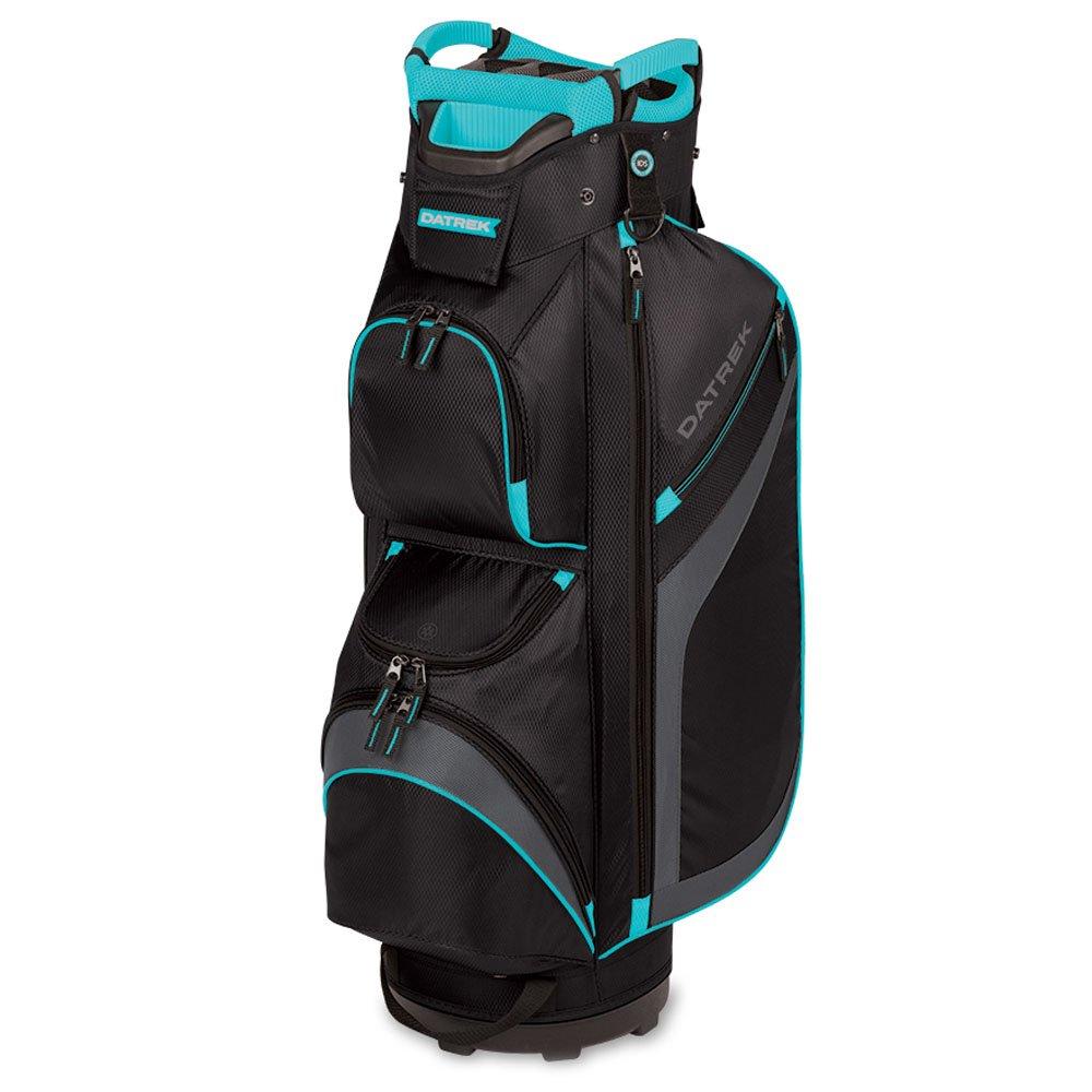 Datrekゴルフ2017 DG Lite IIカートバッグ  Black/Charcoal/Turquoise B075313BGP