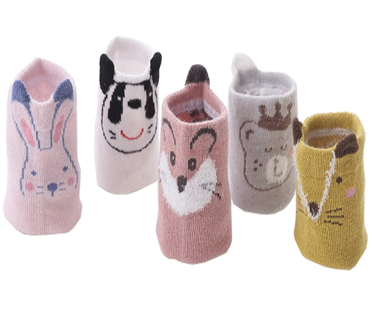 Toddler Children Boys Girls New Cute Animal Pattern Five Colors and Design