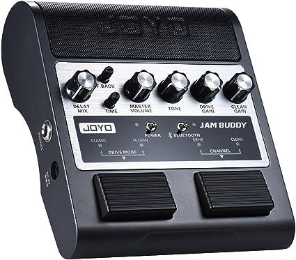 JOYO Amplificador de la Guitarra Recargable Portátil BT 4.0 Canal ...