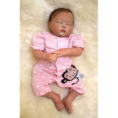 35284b2a61ac1 HOOMAI 20inch 50CM poupée reborn bébé tome Fille soft Silicone réaliste  girls Dormir baby dolls toy Charmant Fermez les yeux sommeil pas cher  Magnétisme ...