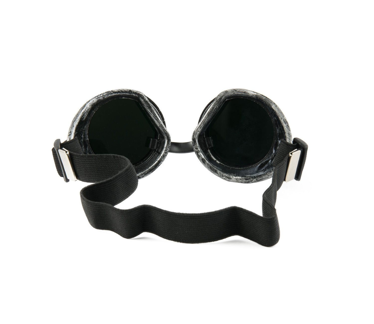 4sold TM Steampunk Black Cyber Goggles Rave Goth Vintage Victorian like Sunglasses