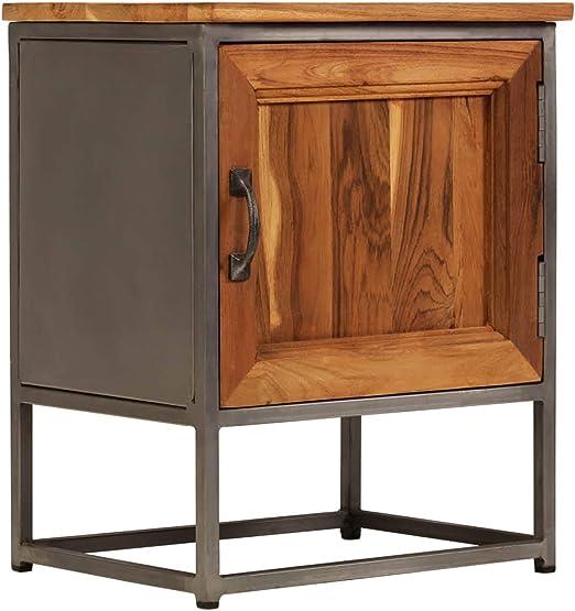 Amazon Com Vidaxl Bedside Cabinet Nightstand Telephone Stand