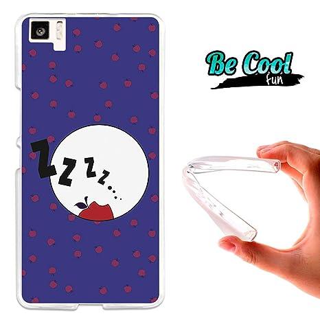 BeCool Fun - Funda Gel Flexible Bq Aquaris M5 Blancanieves.Carcasa TPU Fabricada con la Mejor Silicona, Protege y se Adapta a la Perfección a tu ...