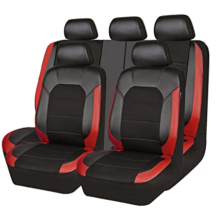 New Arrival Car Pass Leather And Mesh Universal Seat CoversAirbag Compatible