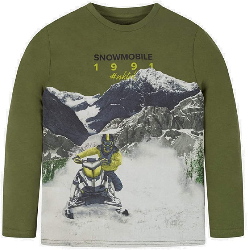 Mayoral Camiseta Manga Larga Snowmobile niño Modelo 7038: Amazon ...
