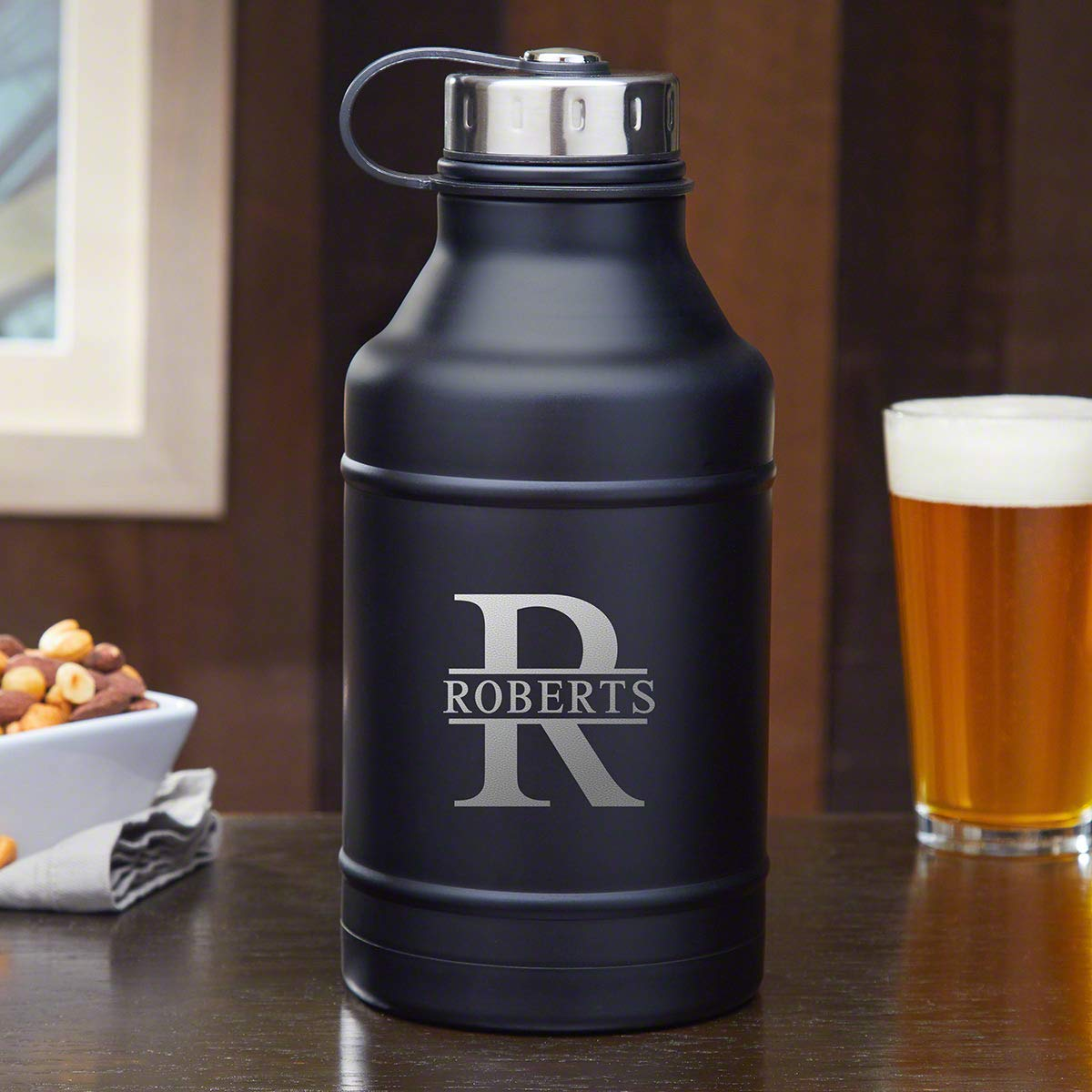 Oakmont Double Walled Personalized Beer Growler (Custom Product)