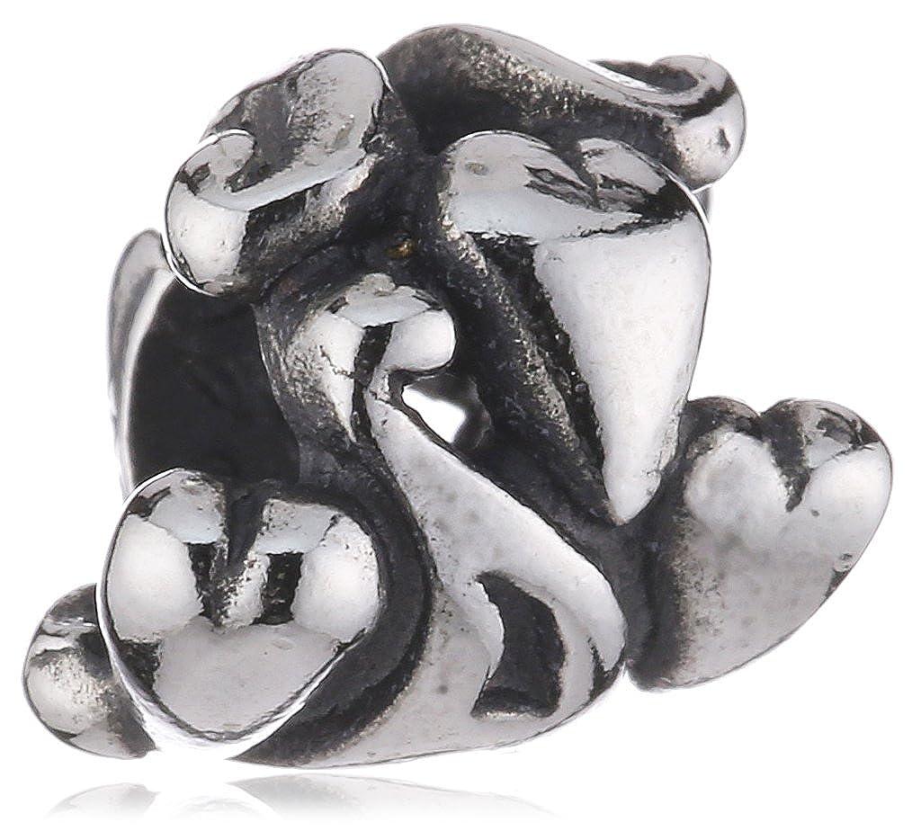 TROLLBEADS Sterling Silber Bead Buchstabe A TAGBE-10060