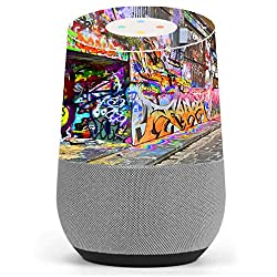 Skin Decal Vinyl Wrap for Google Home stickers skins cover/ Graffiti Street Art NY L.A.