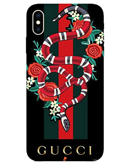 huge discount 4be93 899b2 Gucci Snake case for Apple iPhone Xs MAX: Amazon.in: Electronics