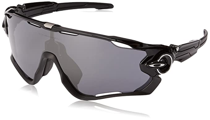 bd8875b76be Amazon.com  Oakley Mens Jawbreaker Sunglasses Black  Oakley  Clothing