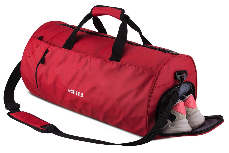 56d5b169 AGPTEK Bolsa Deporte y Viaje para Mujer y Hombre con Compartimento de  Zapatos y Bolsillo Impermeable