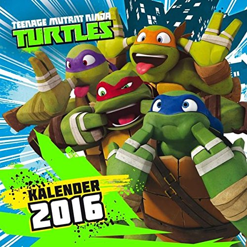 Teenage Mutant Ninja Turtles Wandkalender 2016