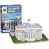 Dazzling Toys 35 Pcs Easy Assembling 3D White House