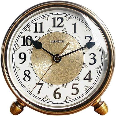 CLHXZE Reloj De Mesa Retro Reloj de la música, Maquinaria Pequeña ...