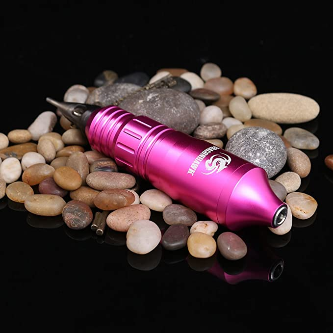 Rotary Tattoo Machine Pen Machine Powerful Motor DC Cable Connector (Pink): Amazon.es: Belleza