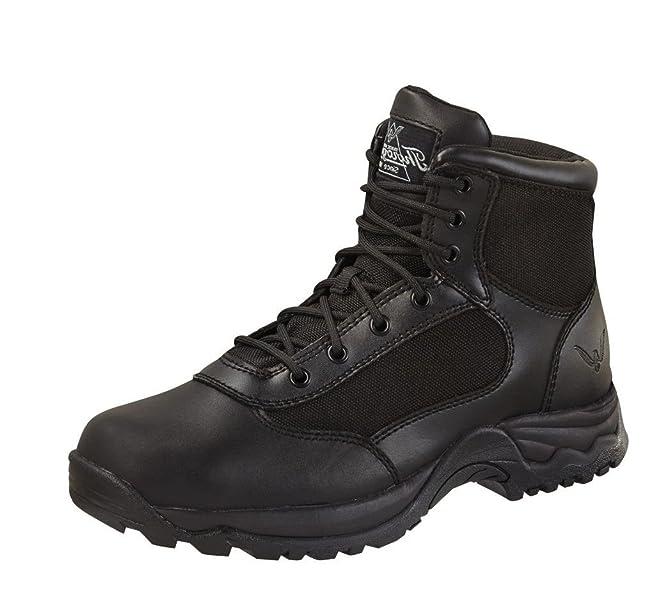d36e3a0f6e0 Men's 6'' Academy Lace Black Hiking Boots 13 M