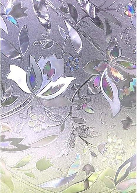 Jardín eléctrico-Negro-Flores iluminado por Hoffman Fabrics Impresión Digital