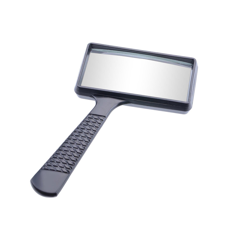 lente de aumento 3X para personas mayores mapas libros de baja visi/ón Lupa rectangular de mano para lectura hobbies