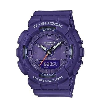 e39b0012e4c1 Amazon.com  Casio G-Shock GMAS130VC-2A S-Series Step Tracker Purple Watch   Watches