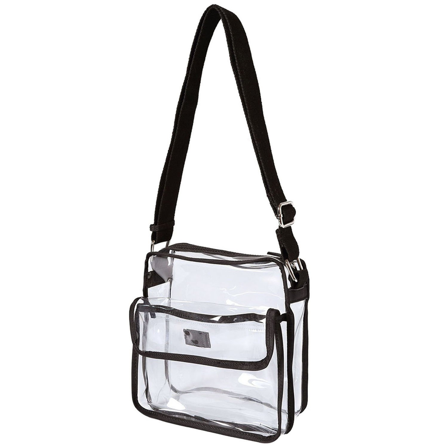 NFL Stadium Approved Clear Shoulder Messenger Bag  Medium Transparent Purse