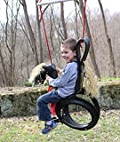 Pony Pal Recycled Horse Tire Swing