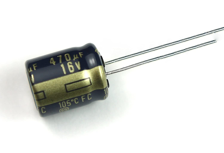 US Seller Capacitor Panasonic 470uF 16v 105C 10x12mm Radial