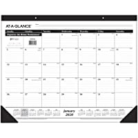 Deals on At-A-Glance 2020 Desk Calendar Desk Pad SK24B00