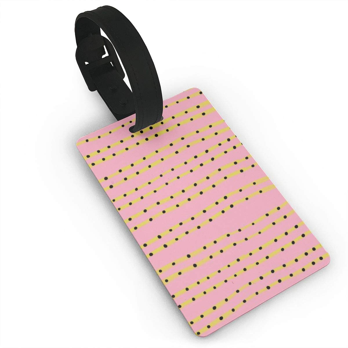 Colorful Polka Dot Handbag Tag For Travel Tags Accessories 2 Pack Luggage Tags