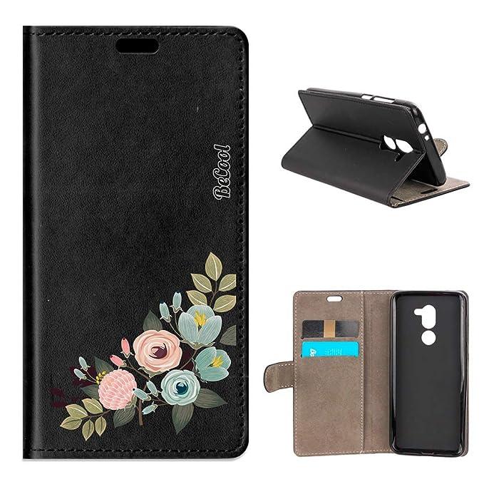 Amazon.com: Alcatel 3X Flip Cover Case - Branch with ...