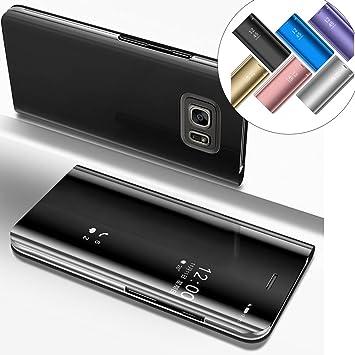 EMAXELERS Funda Samsung Galaxy S6 Edge Plus Espejo Caja de ...