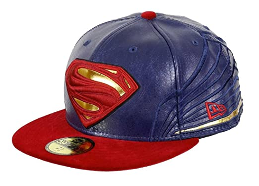 7403f5f688c27 Casquette New Era - 59Fifty Character Armor Superman rouge/bleu taille: 7 =  55