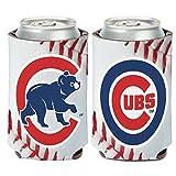 Chicago Cubs Ball Design 12oz Can Cooler