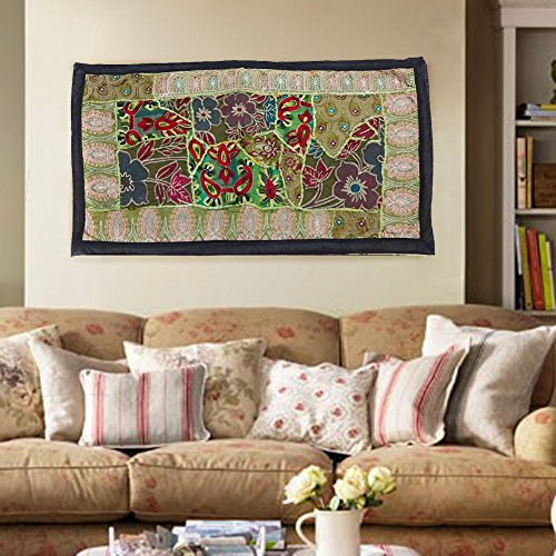 Indian handmade Wall Hanging Bohemian patchwork Tapestries