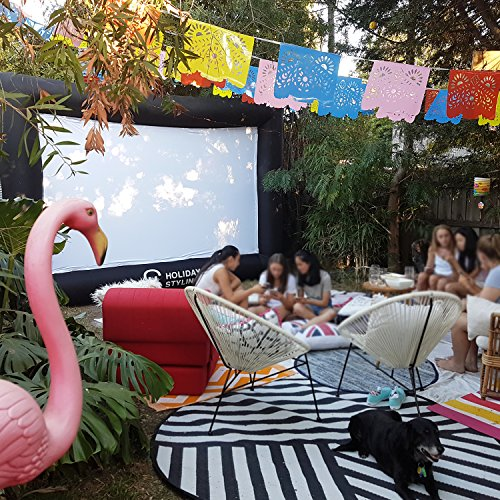inflatable outdoor projector movie screen huge portable